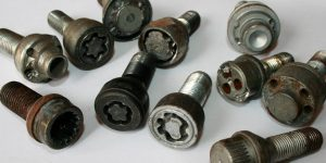 Locking Wheel Nuts Removed